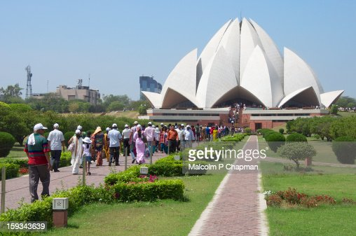 Bah?'? House of Worship - New Delhi : Stock Photo
