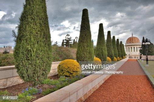 Bahai Gardens Shrine