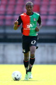Bahnou Diarra during the team presentation of NEC on July 7 2013 at the Goffert stadium in Nijmegen The Netherlands