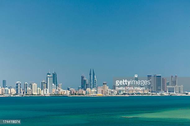 Bahrain. Modern buildings in Manama skyline.