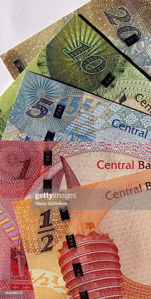 Bahrain New Currency : Stock Photo