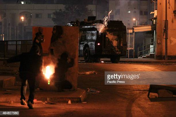 Bahraini regime forces suppressed Bahraini protesters during the clashes which came after the death sentence against a group of Bahraini officer...