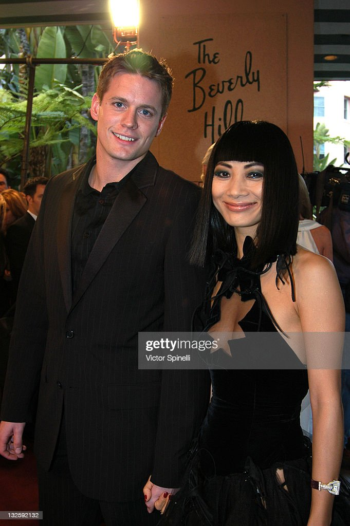 <a gi-track='captionPersonalityLinkClicked' href=/galleries/search?phrase=Bai+Ling&family=editorial&specificpeople=201459 ng-click='$event.stopPropagation()'>Bai Ling</a> and guest during 14th Annual Night of 100 Stars Oscar Gala at Beverly Hills Hotel in Beverly Hills, California, United States.