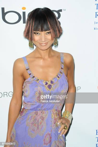 Bai Ling attends James Cameron and AVATAR Cast Celebrate Earth Day in Los Angeles at JW Marriot on April 22 2010 in Los Angeles California