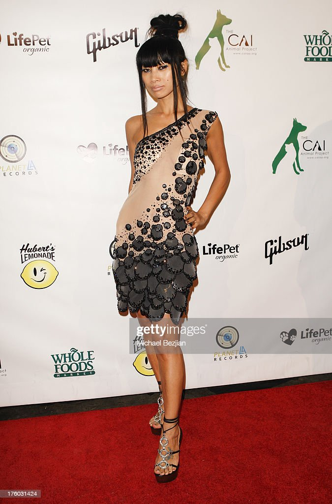 <a gi-track='captionPersonalityLinkClicked' href=/galleries/search?phrase=Bai+Ling&family=editorial&specificpeople=201459 ng-click='$event.stopPropagation()'>Bai Ling</a> attends Showcase Benefiting The Carrie Ann Inaba Animal Project at Gibson Guitar Entertainment Relations Showroom on August 10, 2013 in Beverly Hills, California.