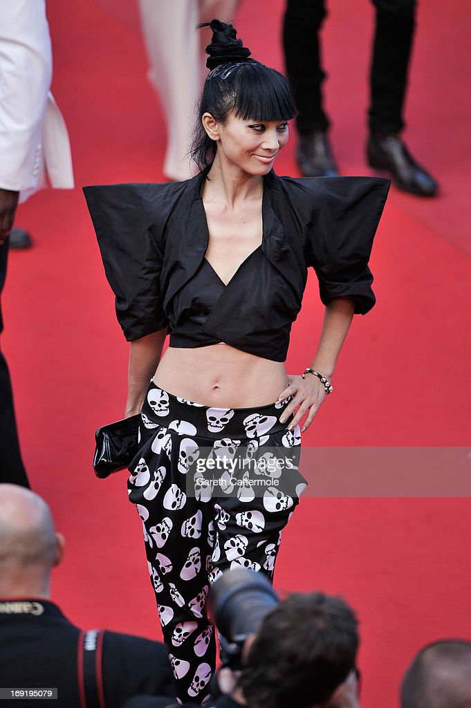 Bai Ling attends the 'Cleopatra' premiere during The 66th Annual Cannes Film Festival at The 60th Anniversary Theatre on May 21, 2013 in Cannes, France.