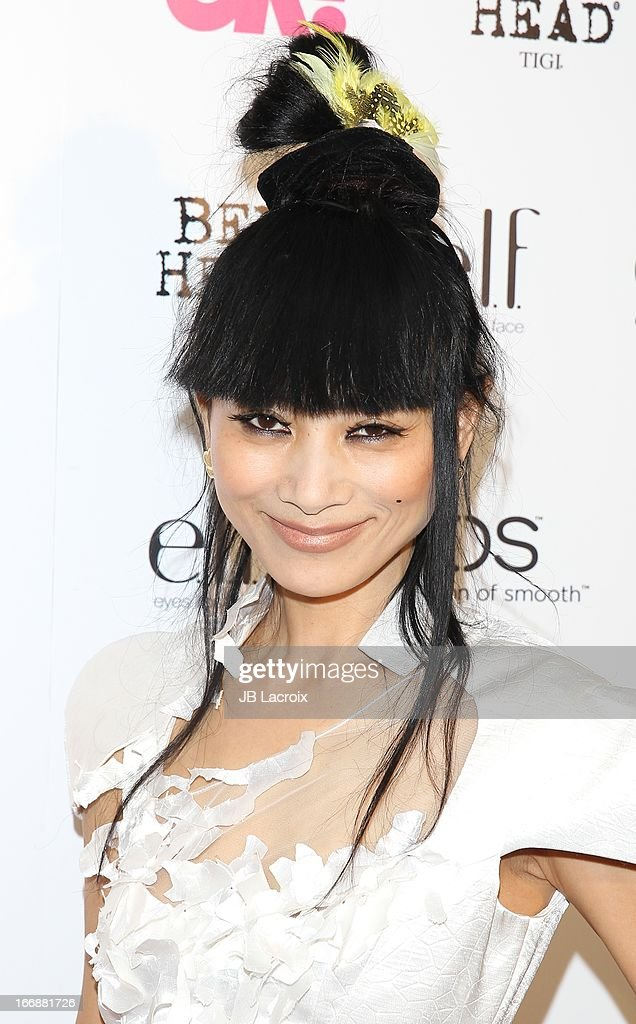 <a gi-track='captionPersonalityLinkClicked' href=/galleries/search?phrase=Bai+Ling&family=editorial&specificpeople=201459 ng-click='$event.stopPropagation()'>Bai Ling</a> attends the OK! Magazine's 'So Sexy' party at Mondrian Los Angeles on April 17, 2013 in West Hollywood, California.