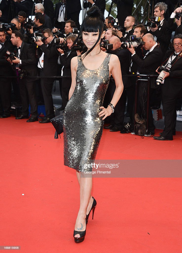 Bai Ling attends the Opening Ceremony and Premiere of 'The Great Gatsby' at The 66th Annual Cannes Film Festival at Palais des Festivals on May 15, 2013 in Cannes, France.