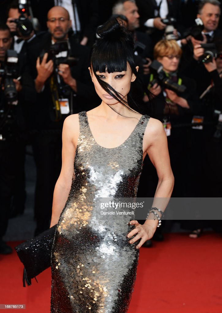 Bai Ling attends the Opening Ceremony and premiere of 'The Great Gatsby' during the 66th Annual Cannes Film Festival at Palais des Festivals on May 15, 2013 in Cannes, France.