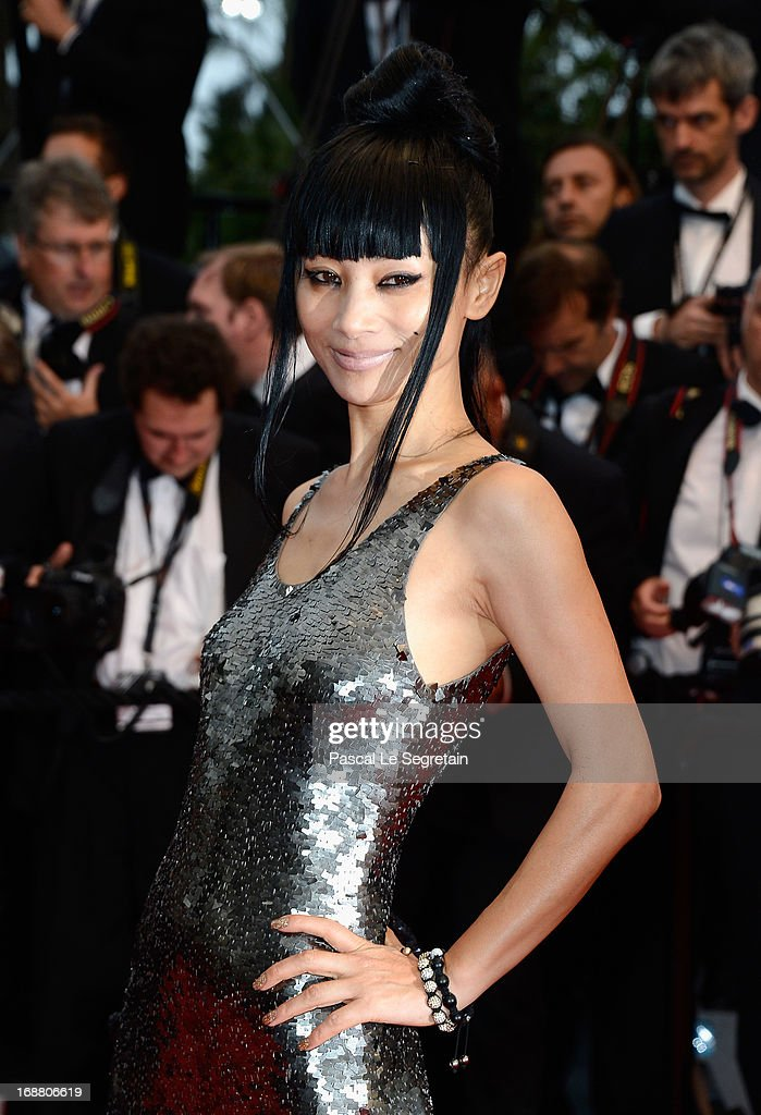 Bai Ling attends the Opening Ceremony and 'The Great Gatsby' Premiere during the 66th Annual Cannes Film Festival at the Theatre Lumiere on May 15, 2013 in Cannes, France.