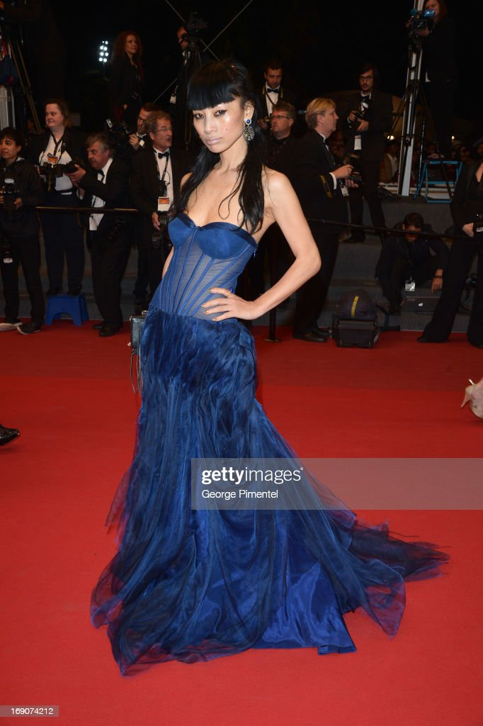 Bai Ling attends the Premiere of 'Borgman' at The 66th Annual Cannes Film Festival on May 19, 2013 in Cannes, France.