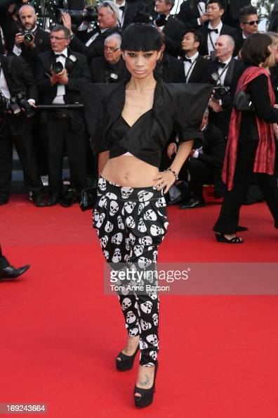 Bai Ling attends the Premiere of 'Cleopatra' during the 66th Annual Cannes Film Festival at the Palais des Festivals on May 21 2013 in Cannes France