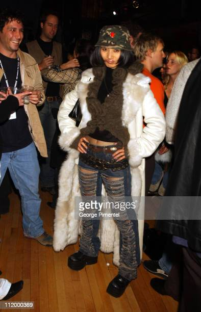 Bai Ling during 2002 Sundance Film Festival HBOProject Green Light Party at Harry O's in Park City Utah United States