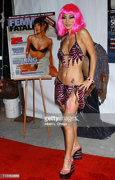 Bai Ling during 6th Annual Almost Human Halloween Party in Association with CFQ/Femme Fatale Magazine at Almost Human Studios in Culver City...
