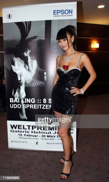 Bai Ling during Bai Ling Opens '8 Spirits Photo Exhibition' February 14 2007 at 'Galerie Helmut Junger' at NH Hotel Berlin Mitte in Berlin Berlin...