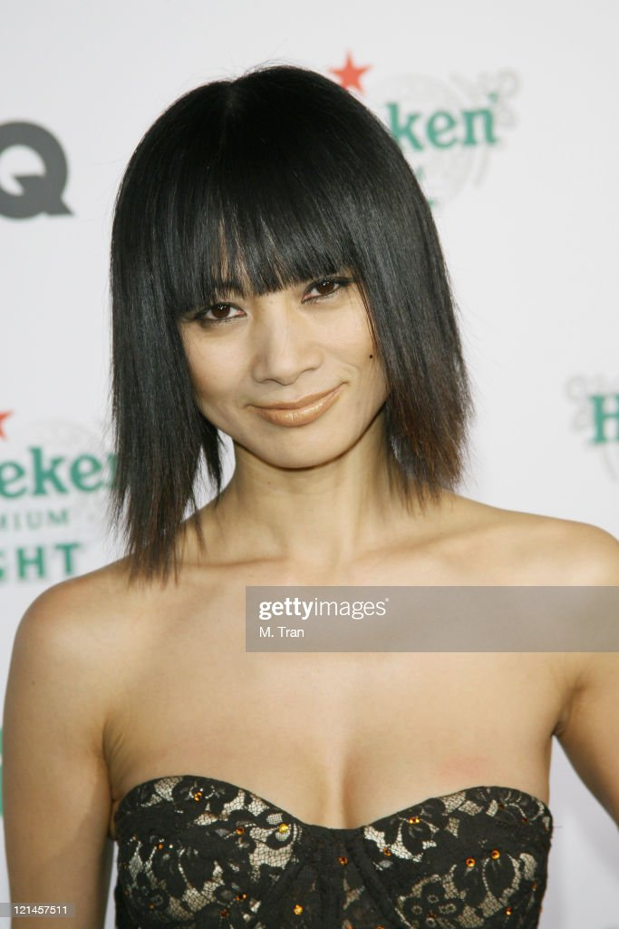 <a gi-track='captionPersonalityLinkClicked' href=/galleries/search?phrase=Bai+Ling&family=editorial&specificpeople=201459 ng-click='$event.stopPropagation()'>Bai Ling</a> during GQ Magazine Celebrates Heineken Premium Light at Les Deux in Hollywood, California, United States.