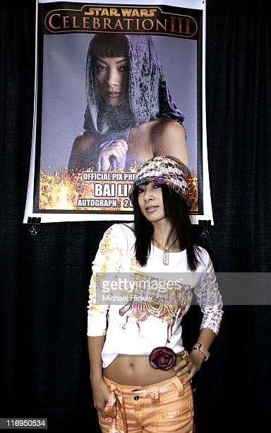 Bai Ling during 'Star Wars' Celebration III Day 3 at Indiana Convention Center in Indianapolis Indiana United States