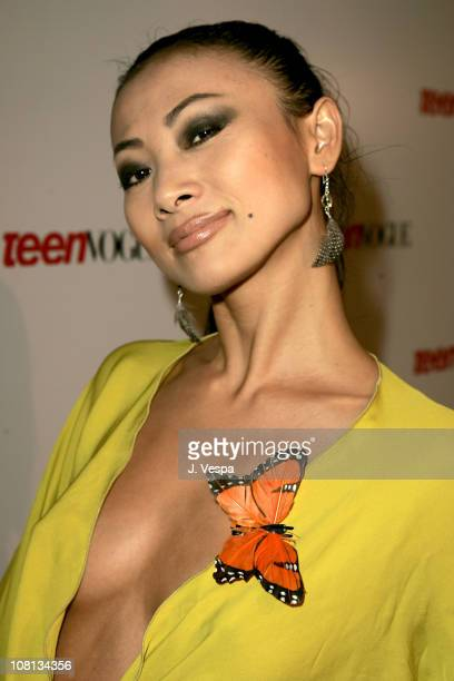 Bai Ling during Teen Vogue Young Hollywood Party Arrivals at Chateau Marmont in Hollywood California United States