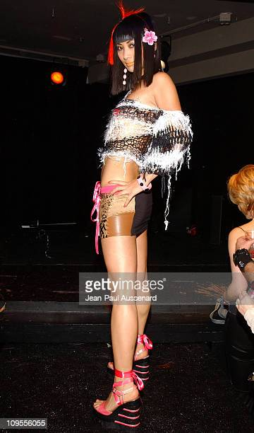 Bai Ling in Battlefield Fashion during Clicquot Champagne Presents the Battlefield Fashion Show to Benefit the Reality Cares Foundation at Pearl in...
