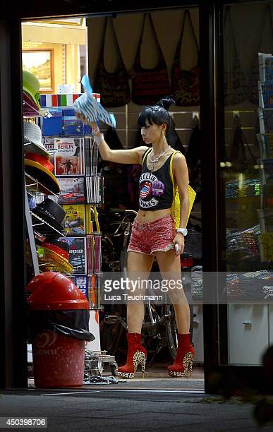 Bai Ling is seen in Berlin on June 10 2014 in Berlin Germany