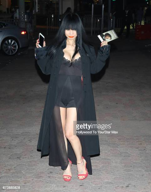 Bai Ling is seen on April 24 2017 in Los Angeles CA