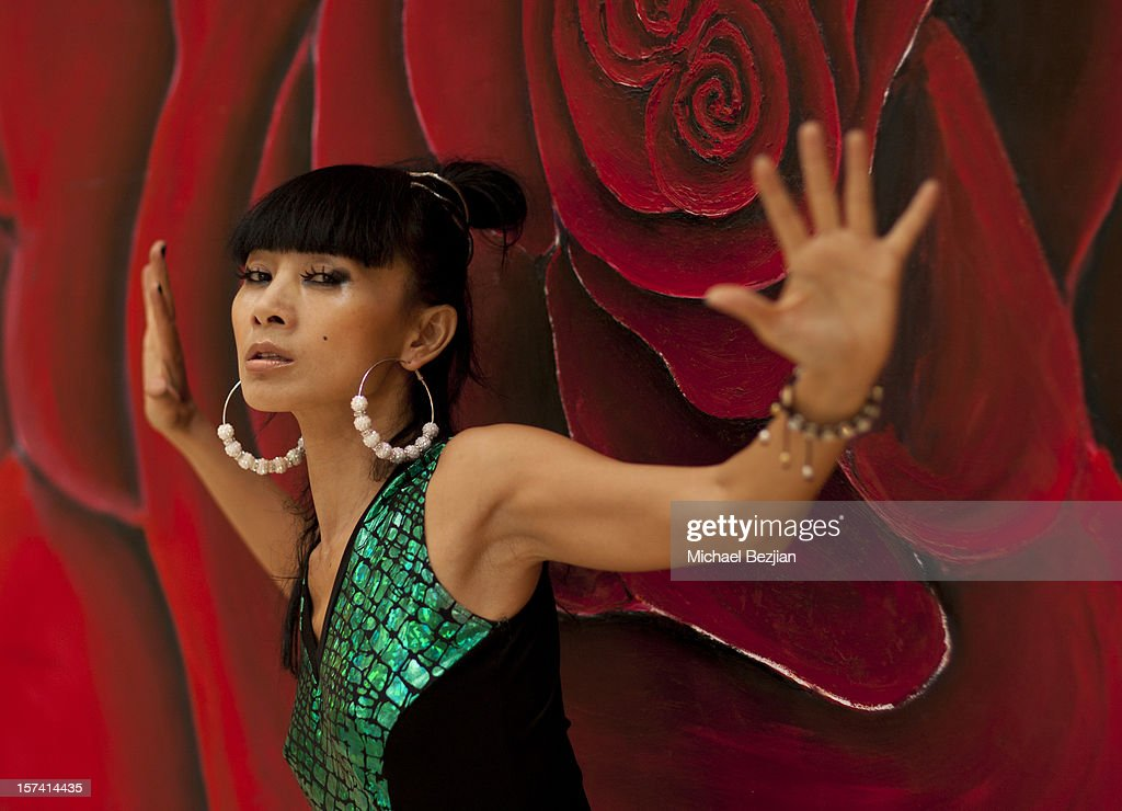 <a gi-track='captionPersonalityLinkClicked' href=/galleries/search?phrase=Bai+Ling&family=editorial&specificpeople=201459 ng-click='$event.stopPropagation()'>Bai Ling</a> poses for portrait at 'Posing Heroes' Beauty And Portrait Day Benefiting The Lange Foundation on December 2, 2012 in Holmby Hills, California.
