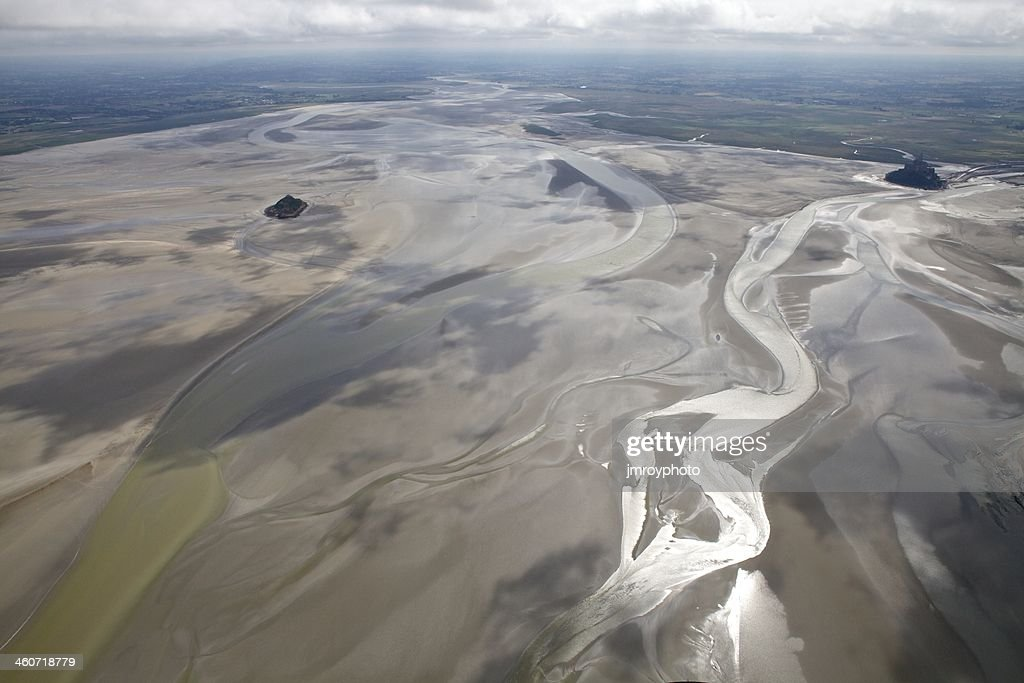 baie du mont saintmichel stock photo getty images