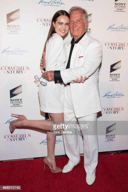Bailee Madison and Pat Boone arrive to the premiere of Samuel Goldwyn Films' 'A Cowgirl's Story' at Pacific Theatres at The Grove on April 13 2017 in...