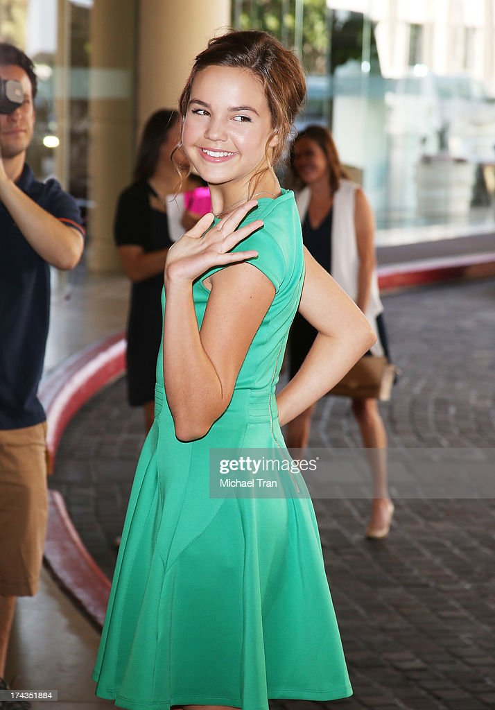 Bailee Madison arrives at the Television Critic Association's Summer press tour - Hallmark Channel & Hallmark Movie Channel event held at The Beverly Hilton Hotel on July 24, 2013 in Beverly Hills, California.