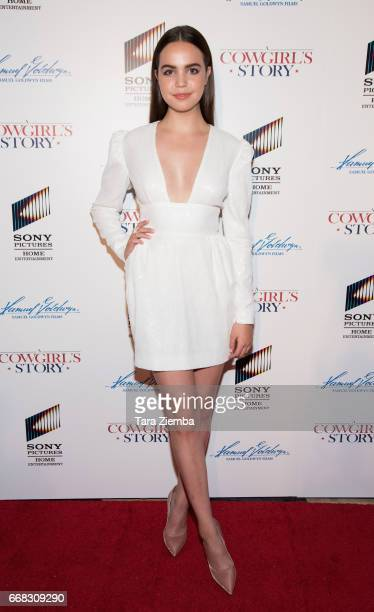 Bailee Madison arrives to the premiere of Samuel Goldwyn Films' 'A Cowgirl's Story' at Pacific Theatres at The Grove on April 13 2017 in Los Angeles...