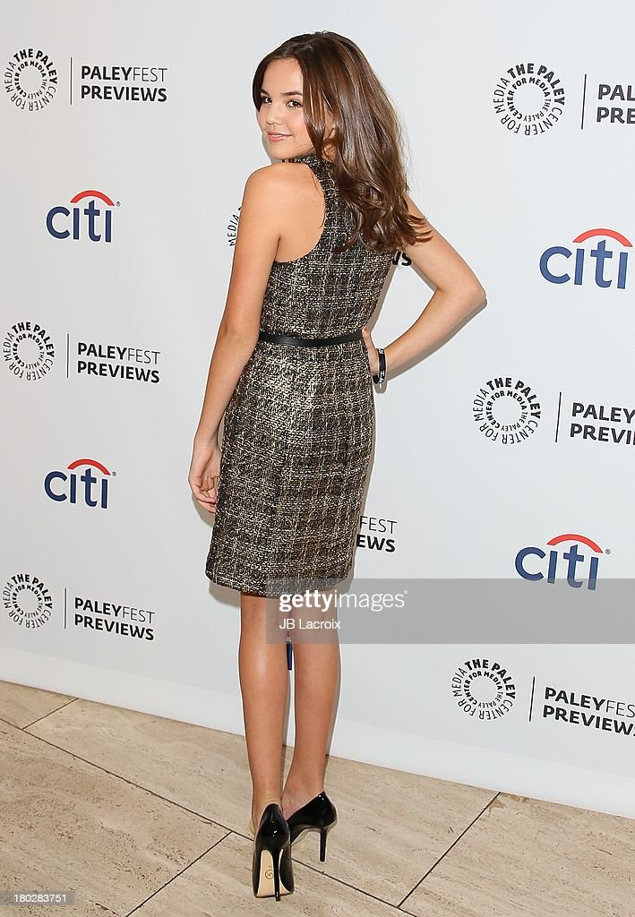 <a gi-track='captionPersonalityLinkClicked' href=/galleries/search?phrase=Bailee+Madison&family=editorial&specificpeople=4136620 ng-click='$event.stopPropagation()'>Bailee Madison</a> attends the 2013 PaleyFestPreviews: Fall TV - ABC held at The Paley Center for Media on September 10, 2013 in Beverly Hills, California.