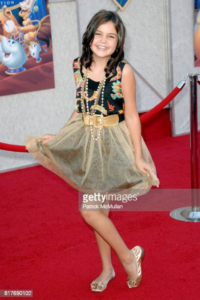 Bailee Madison attends WALT DISNEY STUDIOS HOME ENTERTAINMENT HOSTS A SINGALONG PREMIERE OF BEAUTY AND THE BEAST at El Capitan Theatre on October 2...