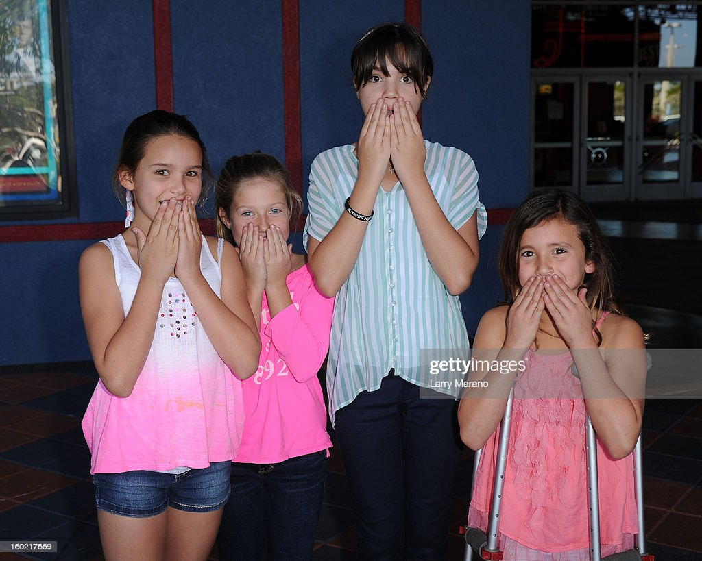 Bailee Madison meets fans at 'Parental Guidance' on January 27, 2013 in Fort Lauderdale, Florida.