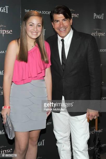 Bailey Batt and Bryan Batt attend THE CINEMA SOCIETY PIAGET host a screening of 'THE TWILIGHT SAGA ECLIPSE' at Crosby Street Hotel on June 28 2010 in...