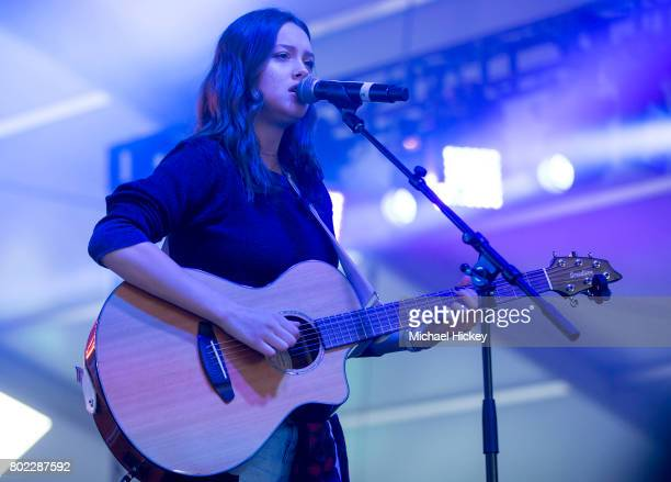Bailey Bryan performs during the Lakeshake Festival at Huntington Bank Pavilion at Northerly Island on June 25 2017 in Chicago Illinois