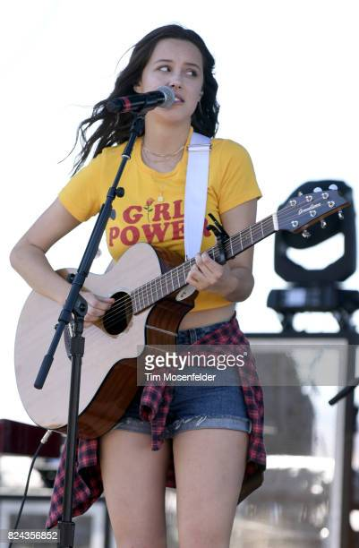 Bailey Bryan performs during Watershed 2017 at the Gorge Amphitheatre on July 29 2017 in George Washington