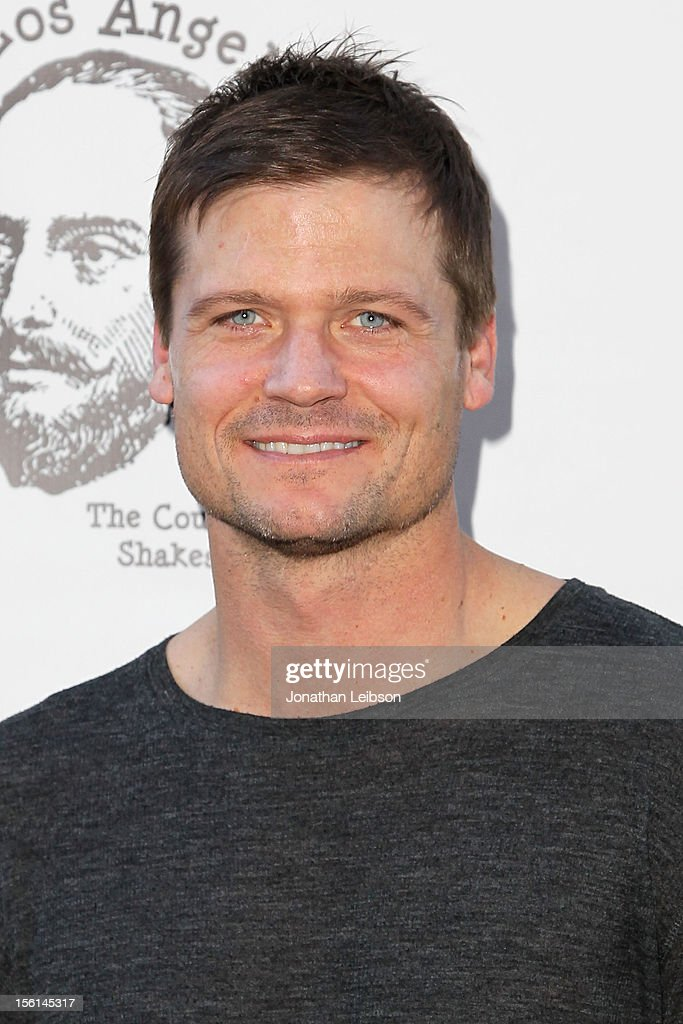 Bailey Chase attends The Los Angeles Drama Club And Magic Castle Host 1st Gala Fundraiser And Benefit Performance 'Tempest In A Teacup' at The Magic Castle on November 11, 2012 in Hollywood, California.