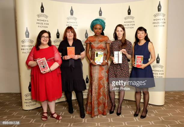 Bailey's Women Prize for Fiction 2017 shortlisted authors Naomi Alderman with her book 'The Power' Linda Grant with her book 'The Dark Circle'...
