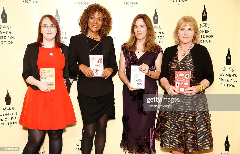 Baileys Women's Prize for Fiction 2016 shortlisted authors Lisa McInerney Cynthia Bond Elizabeth McKenzie and Hannah Rothschild ahead of the winner...