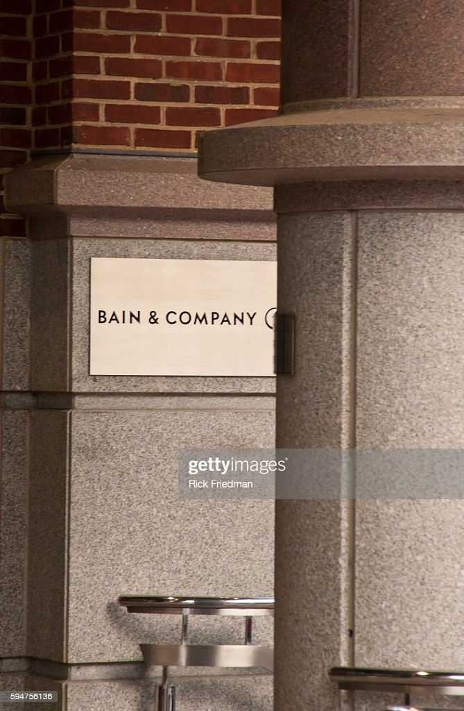Bain Company is a management consulting firm formerly managed by Republican Presidential candidate Mitt Romney headquartered in the Back Bay section...