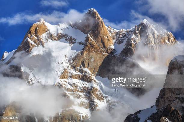 Baintha Brakk (The Ogre), Baintha To Marphogoro, Biafo Hispar Snow Lake Trek, Central Karakoram National Park, Gilgit-Baltistan, Pakistan