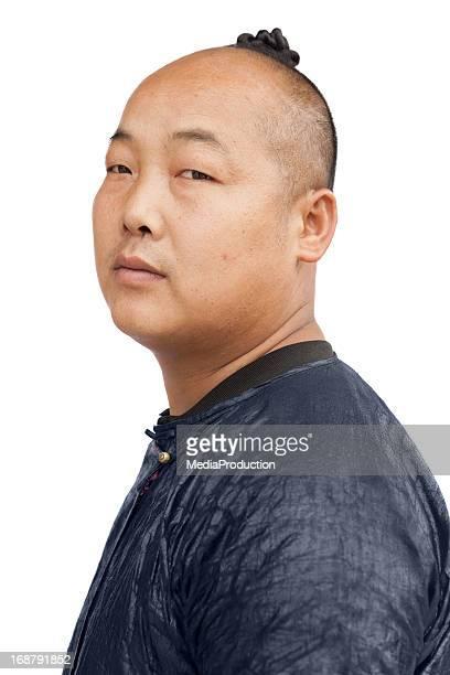 Baisha Miao tribal man