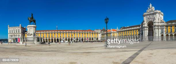 Baixa district, view of Commerce Square