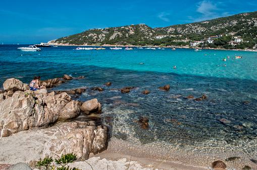 Baja Sardinia Italy  City new picture : Baja sardinia beach in Sardinia Italy