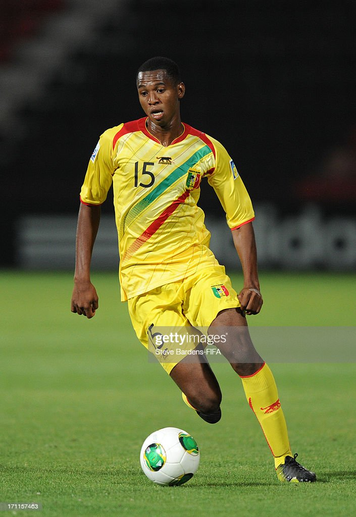Bakary Nimaga of Mali in action during the FIFA U20 World Cup Group D match between Paraguay and Mali at Kamil Ocak Stadium on June 22, 2013 in Gaziantep, Turkey.