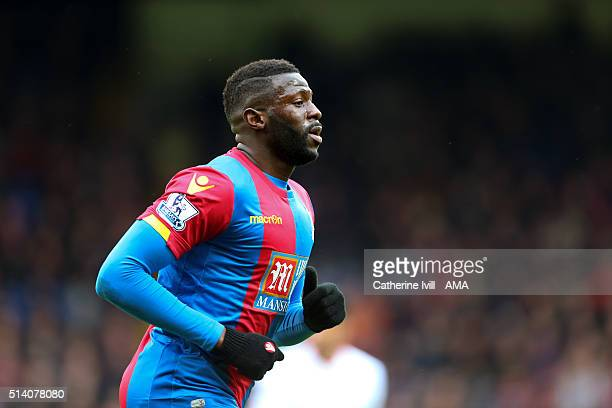 Bakary Sako of Crystal Palace during the Barclays Premier League match between Crystal Palace and Liverpool at Selhurst Park on March 6 2016 in...