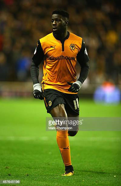 Bakary Sako of Wolverhampton Wanderers in action during the Sky Bet Championship match between Wolverhampton Wanderers and Middlesbrough at Molineux...