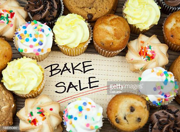 Bake Sale Cookies and Cakes