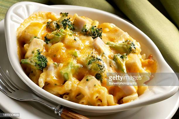 Baked Macaroni with Broccoli and Chicken