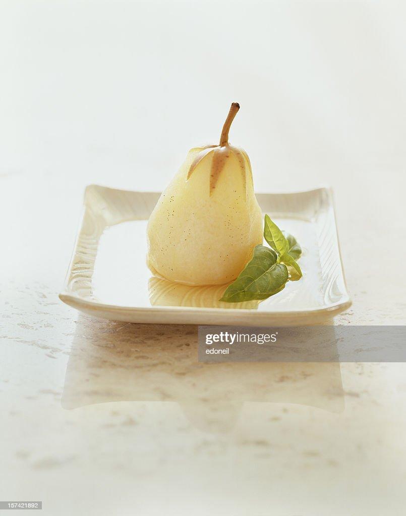 Baked Pear : Stock Photo